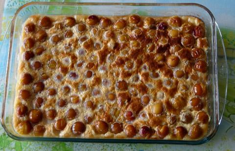 Clafoutis aux mirabelles recette d 39 un dessert facile de lorraine - Recette avec des mirabelles ...