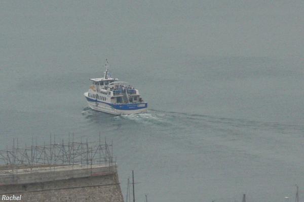 bateau zoomé et recadré