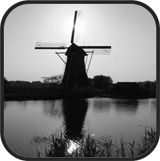 moulin nb Kinderdijk (Hollande)