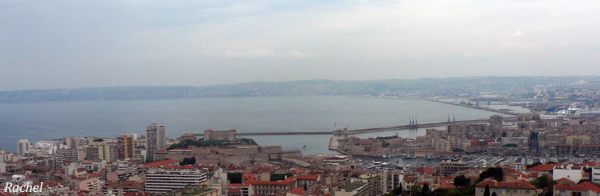 Port de Marseille vu de Notre-Dame de La Garde
