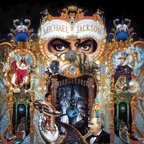 les pochettes d'albums ! - Page 2 Jackson-album-dangerous