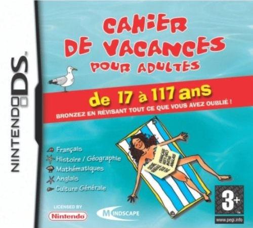 Cahier de Vacances pour Adultes 2 DS