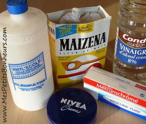 Porcelaine froide ou p te ma s tape 1 recette et test - Colle liquide blanche ...