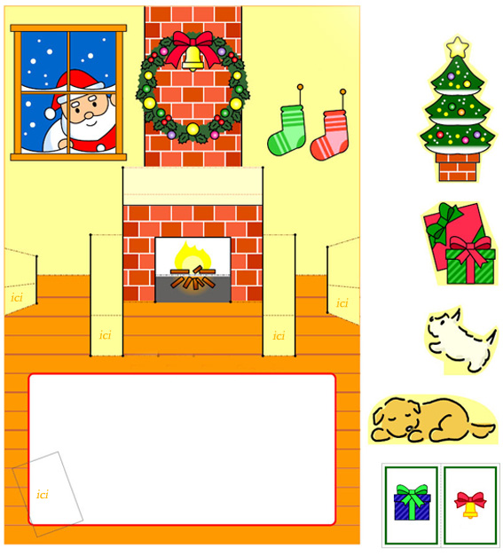 Cards pop up noel search results calendar 2015 - Cartes de noel a imprimer ...