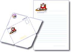papier à lettre reponse du pere noel gratuit