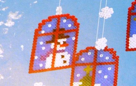 Déco NoÃ«l Hama – Bricolage enfant : décoration de table en perles ...