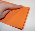 Bricolage de no l facile pour enfants deux mod les de guirlandes - Plier une feuille en 3 ...