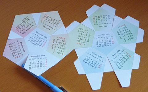 Calendrier 2009 fabriquer patron de dod ca dre imprimer - Decoupage collage a imprimer ...