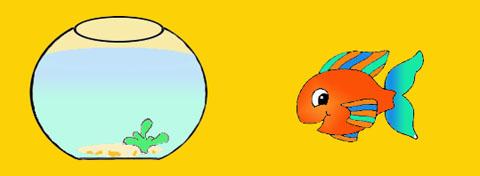 Bricolage facile pour enfants activit pour le 1er avril for Bocal poisson acheter