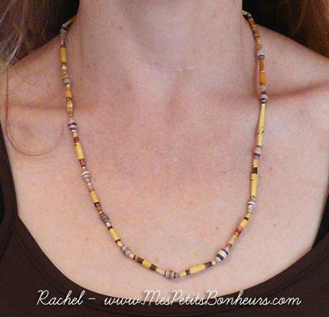 Souvent Bricolage enfant pour la Fête des Mères: fabriquer un collier de  TH19