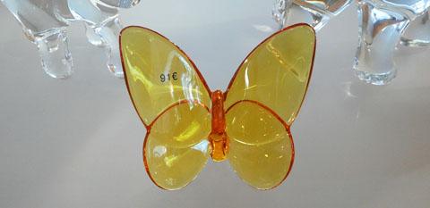 un-papillon-jaune-cristal-baccarat