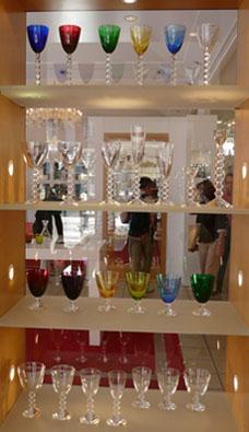 verres en cristal de Baccarat
