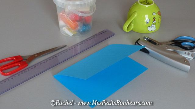 Bricolage en p te modeler poisson dans son bocal - Plier une feuille en 3 ...
