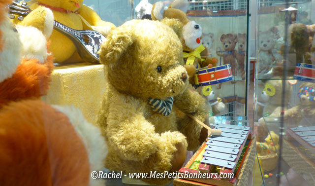 oursons musiciens xylophone et tambour