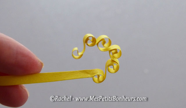 quilling technique boucles