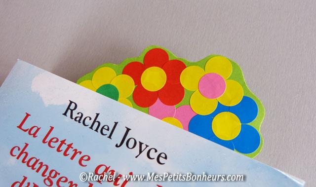 marque page fleurs bricolage facile