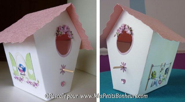 nichoir rose de Pascale
