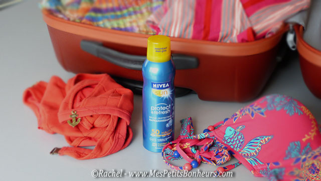 brume protectrice solaire nivea