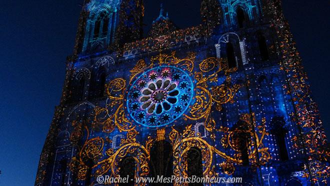 Chartres en Lumières Cathédrale arabesques suite