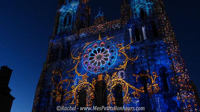Chartres en Lumières Cathédrale arabesques