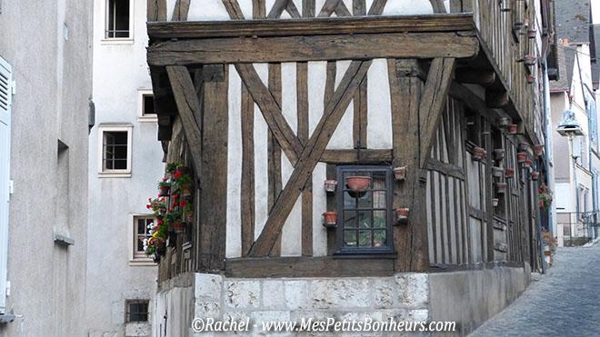 Chartres maison à colombages