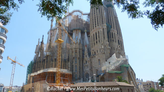 Travaux sagrada familia