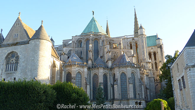 arriere cathedrale chartres