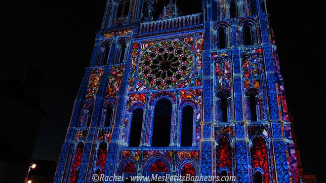 cathedrale de chartres en lumieres vitraux