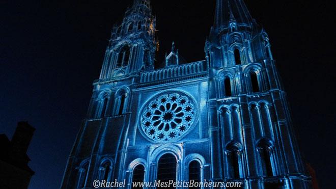 chartres en lumieres cathedrale de glace
