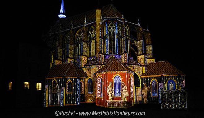 illuminations chartres eglise saint pierre