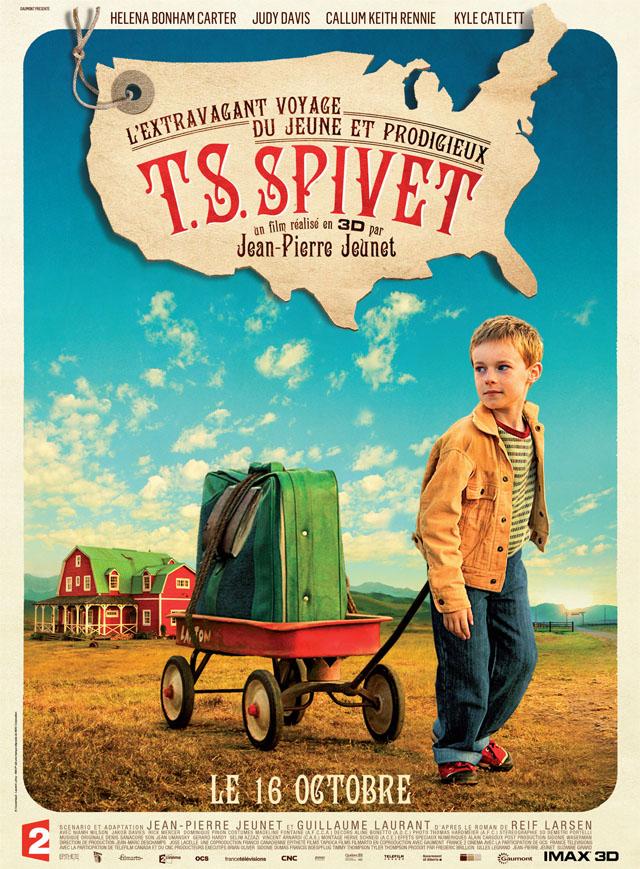 affiche TS Spivet