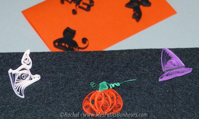 Bricolage pour halloween citrouille en quilling et autres petites id es - Bricolage pour halloween ...