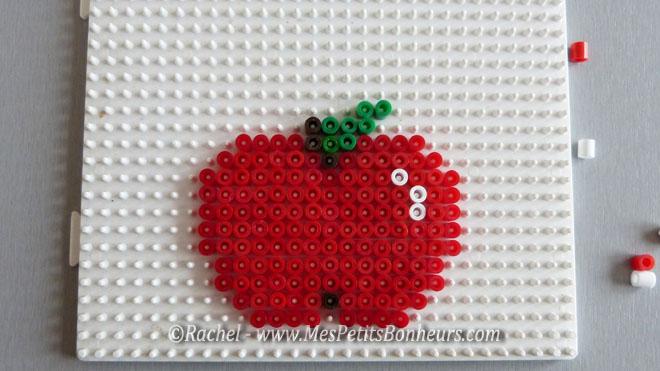 modele pomme perles hama a repasser