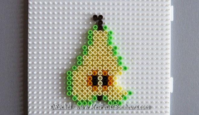 Fruits d automne en perles repasser bricolage facile pour les enfants - Perles a coller fer a repasser ...