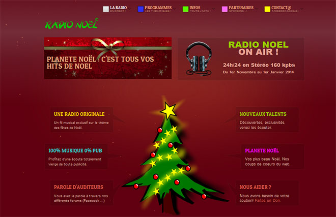site radio noel