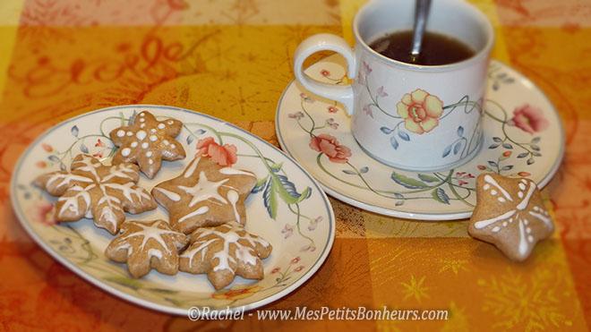 pains d'épices et thé