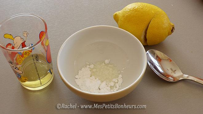préparation du glaçage