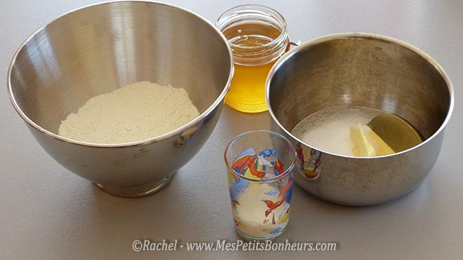 préparer casserole et saladier