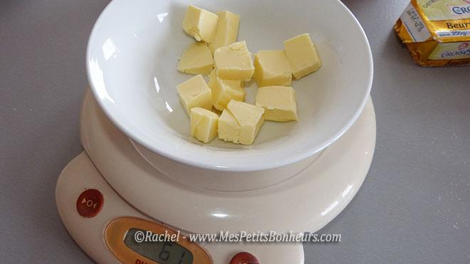 beurre à fondre