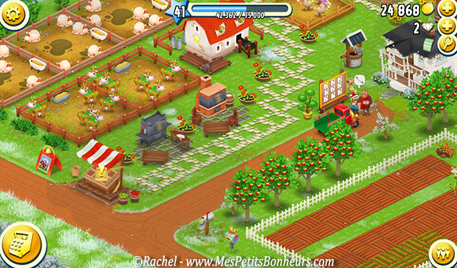 hay day visiteurs et point d'exclamation