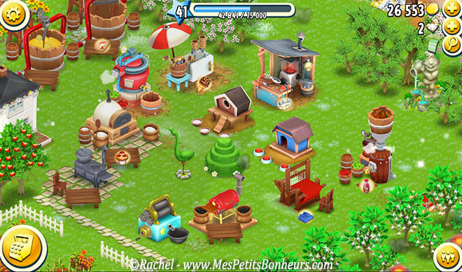 hay day zones machines
