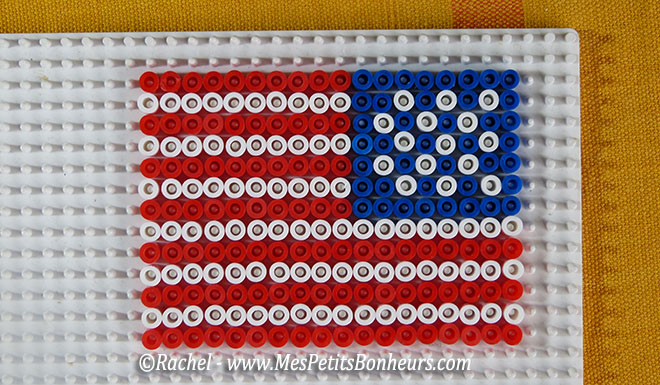 mod les de drapeaux en perles hama pour encadrer celui des