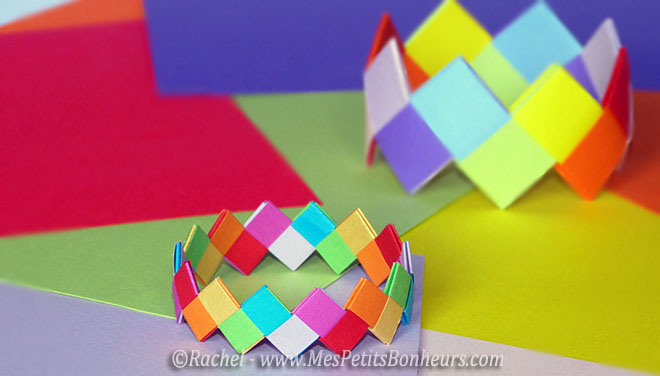 tuto origami rond