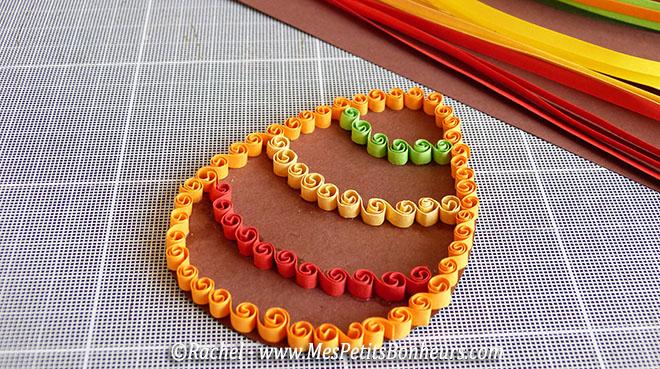 bricolage oeuf paques quilling technique bouclettes