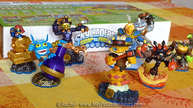 figurines skylanders swap force