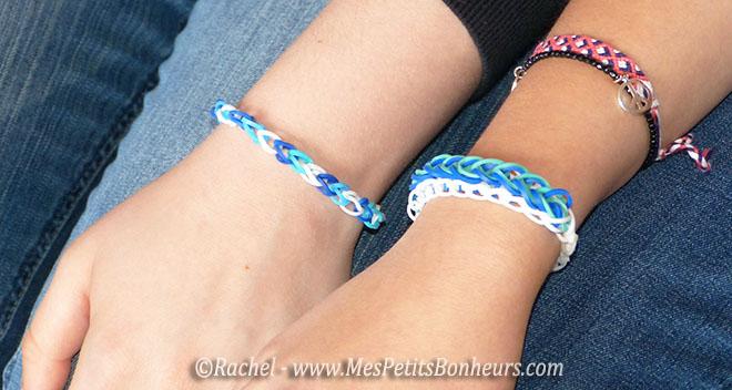 bracelets élastiques jeans