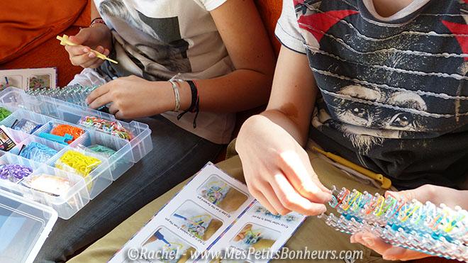 bracelets élastiques par Tim et Elsa