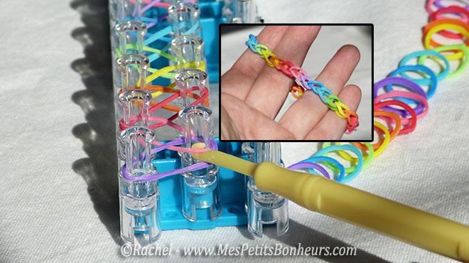 bricolage bracelet rainbow loom