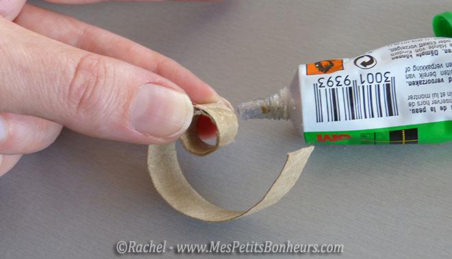 fabrication tete lapin avec rouleau papier toilette