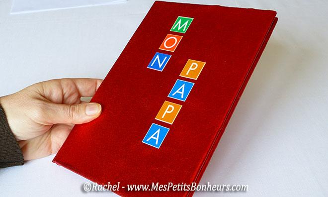 Comment fabriquer un livre personnaliser tuto pour une id e cadeau - Fabriquer un cadeau d anniversaire pour sa maman ...